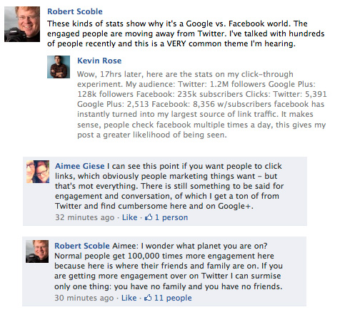 Robert Scoble's comment