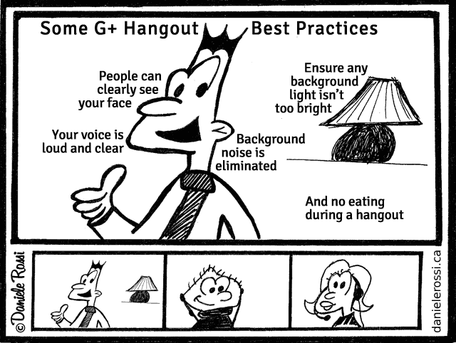 Some G+ Hangout Best Practices