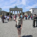 Visiting Brandenburger Tor on my first visit to Berlin, when I was a SoundCloud Community Fellow.