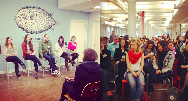 bitly breakfast at bitly HQ - Tips for Planning an Offline Event