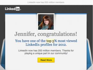 LinkedIn Top 5%